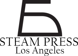 Steam Press Logo with Name